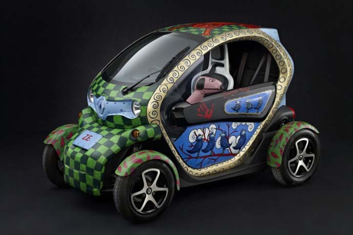 Jacques Tange Renault Twizy