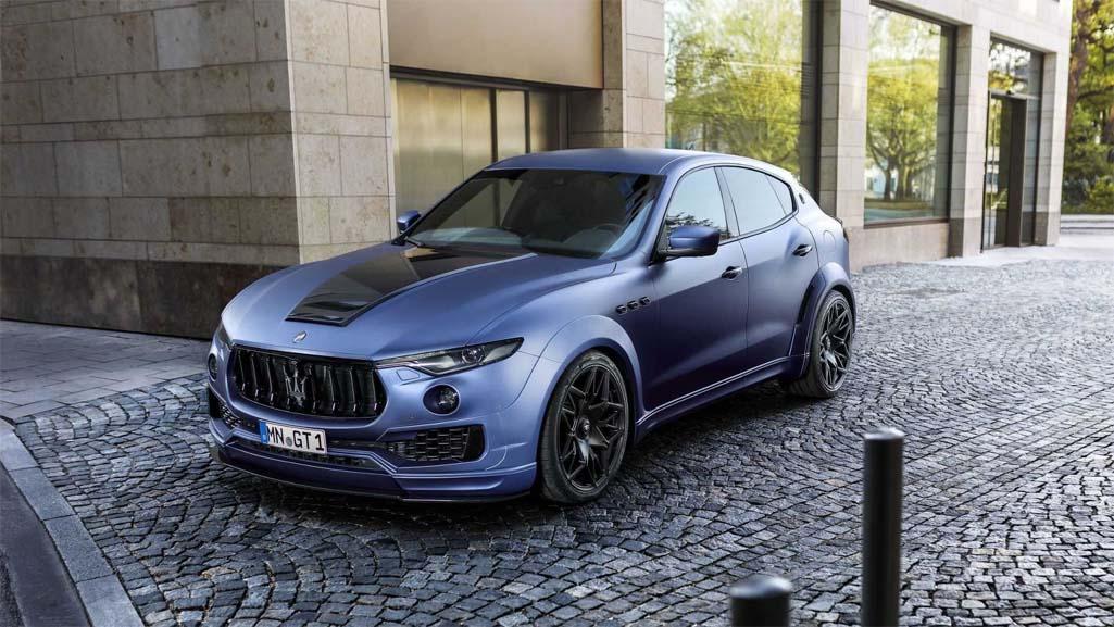 7cc358a89aade Maserati oficjalnie zaprezentował model Levante GTS (2019)