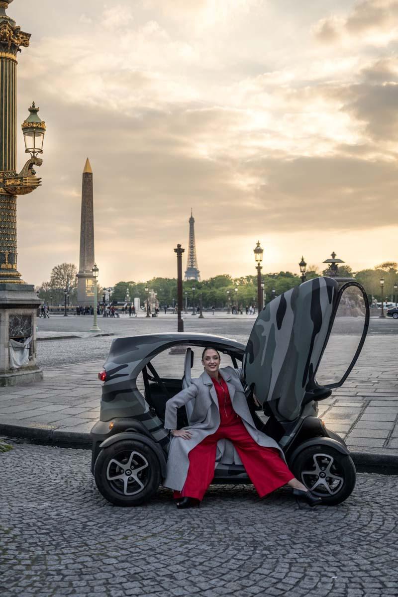 Stylowo I Eko Baletnica Paryż I Twizy