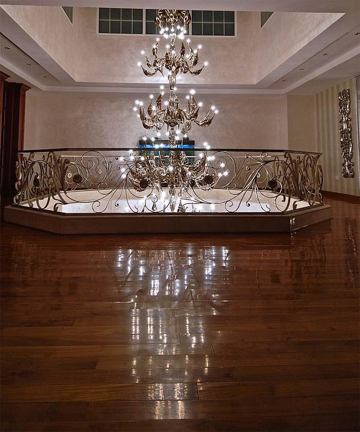 Wenecja szkło weneckie piękny żyrandol  Fabio Fornasier