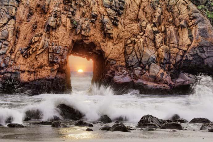 plaża w Kaliforni