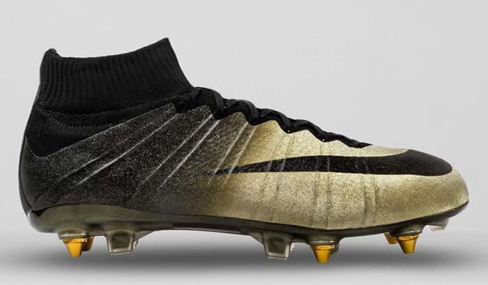 Cristiano świeci złotem. Limitowana edycja butów Mercurial