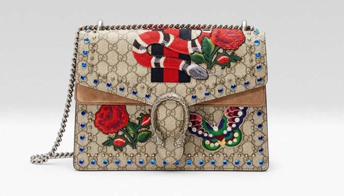 6e529c64731d5 Torebka ta dostępna jest jedynie w firmowym sklepie Gucciego na Via  Montenapoleone we włoskiej stolicy ...