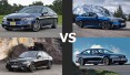 Mercedes – Benz E43 AMG vs BMW M550i
